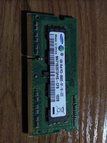 Samsung DDR3 1GB Samsung 1GB 1Rx8 PC3-8500S-07-10-ZZZ