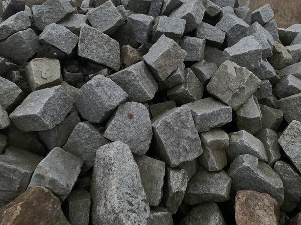 Kostka granitowa, bruk staromiejski