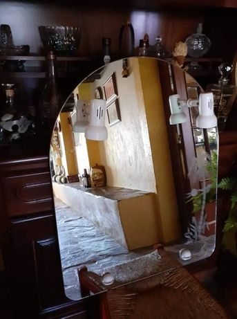 Espelho de casa de banho, eletrificado
