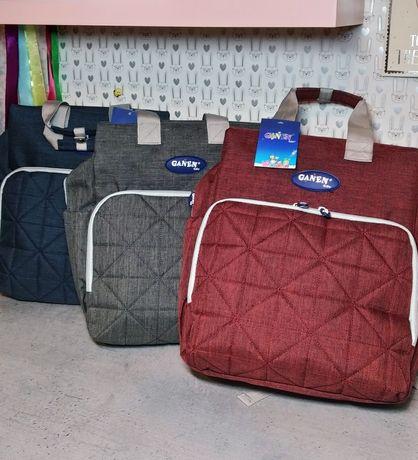 Качественная Сумка  рюкзак для мамыMommy Bag