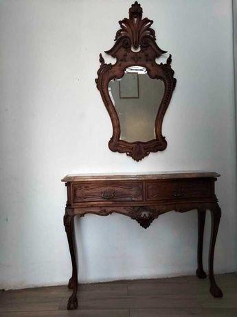 Móvel de Entrada e espelho