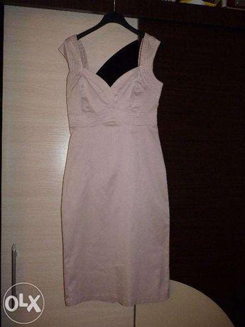 Sukienka pudrowa różowa r.40