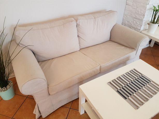 Sofa IKEA EKTORP 2 osobowa, nierozkładana, beżowa