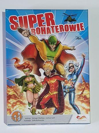 Super bohaterowie - gra rodzinna