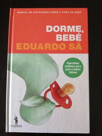 Livro Dorme bebé de Eduardo Sá