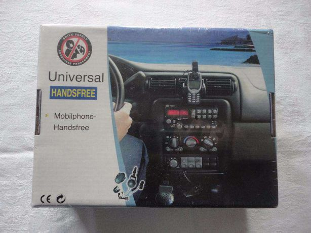 Kit Mãos Livres Mobilphone Universal Handsfree Novo Selado