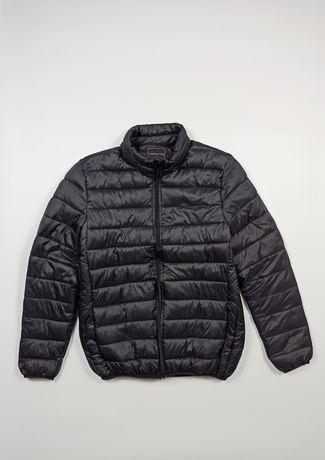 Микропуховик Мужской Черная куртка Дутая S-M Red Herring
