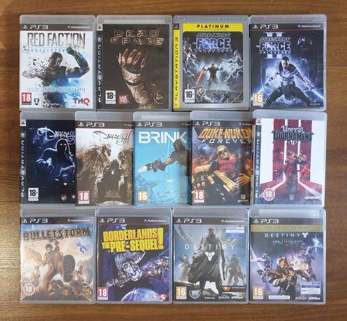 Dead Space,Destiny,Borderlands,Bulletstorm,The Darkness,Duke Nukem Ps3