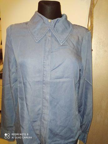 Koszula damska VERO MODA r.M dżinsowa nowa niebieska