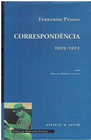 7345  Correspondência (1905 / 1922) de Fernando Pessoa