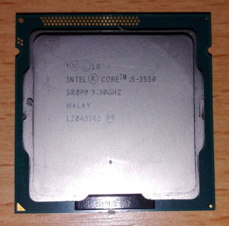 Процессор Intel Core™ i5 (i5-3550), Ivy Bridge, 3.3GHz (Turbo 3.7GHz)