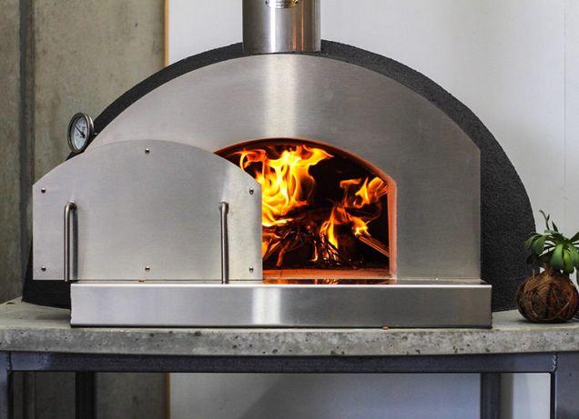 Дровяная печь помпейская D100 см + набор