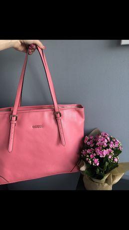 Torebka shopper bag Guess oryginalna
