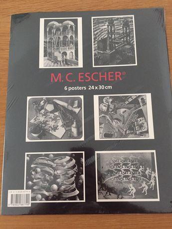 M. C. Escher - 6 posters