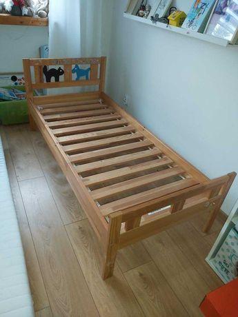 Łóżko dziecięce z materacem Ikea okazja