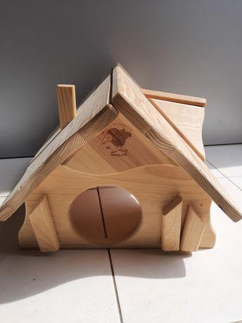 Domek - willa dla królika, świnek lub jeża