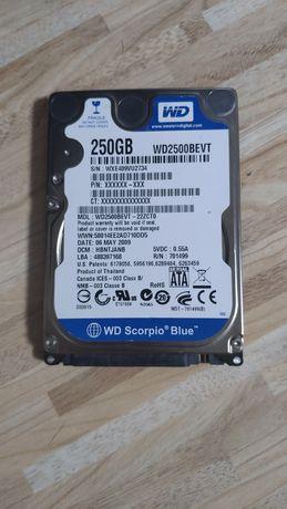"""Жёсткий диск 250GB 2.5"""" Western Digital (WD)"""