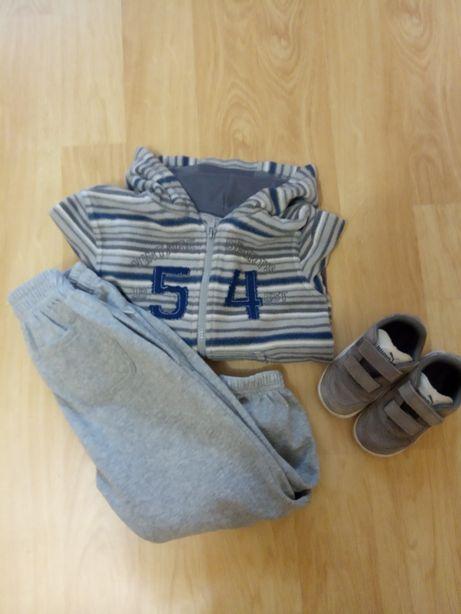 Продам детские спортивные штанишки с начесом и кофта