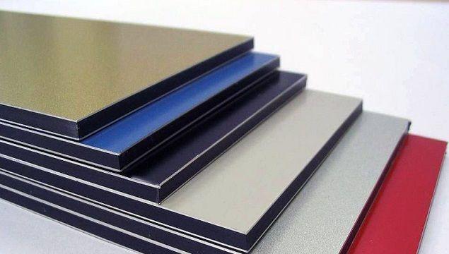 Алюминиевые композитные панели ,композит,Алюкабонд,тм Алютен,RAL 7024