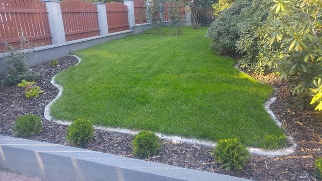 Zakładanie trawnika z siewu, Siatka na krety, Nawadnianie ogrodów.