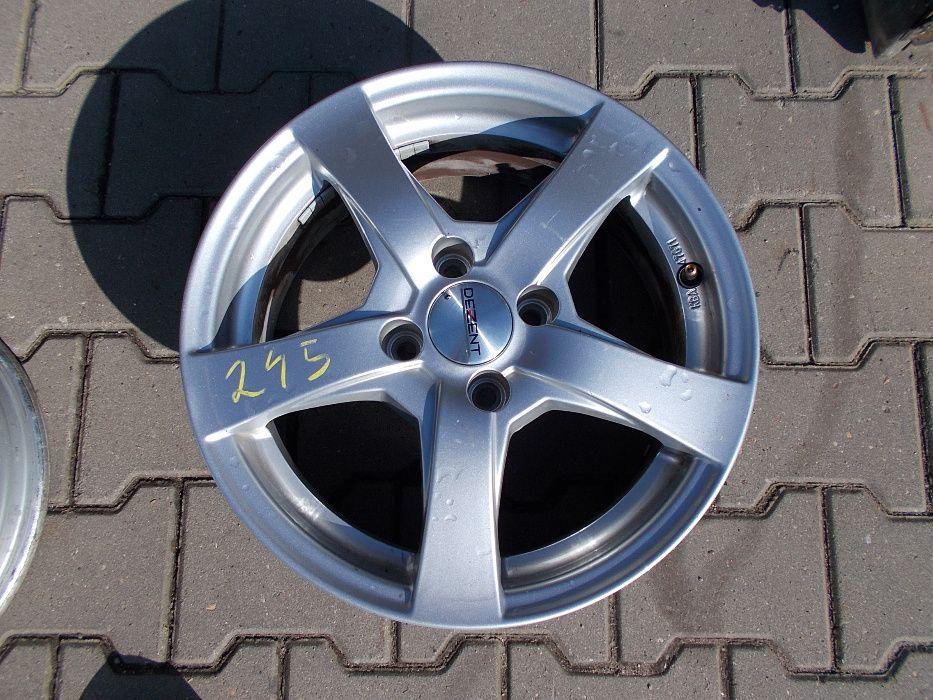 Felga aluminiowa DEZENT 4X100 6Jx15 ET38 Nr.245 Leszno - image 1