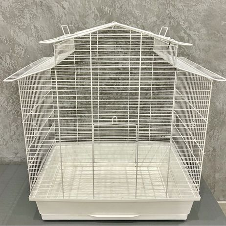 Клетка для птиц Iza IIІ Colour белая + аксессуары