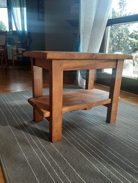 taboret, stołek, stolik, szafka nocna, lite drewno