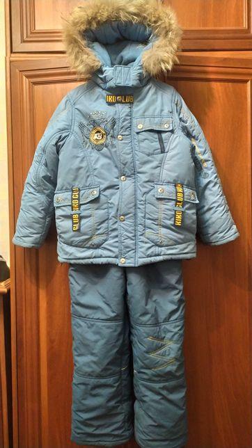 Зимний костюм, куртка и полукомбинезон Kiko 128 р.