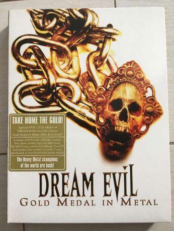 Dream Evil – Gold Medal In Metal (Alive & Archive) - Rarissimo