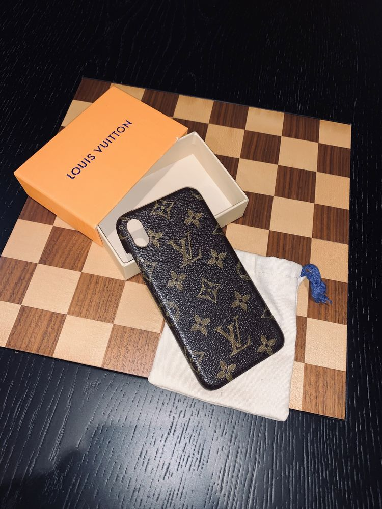 Capa Iphone XS Max Louis Vuitton 1:1