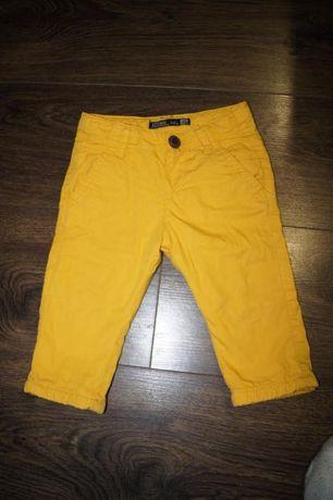 spodnie ocieplane musztardowe Losan 74
