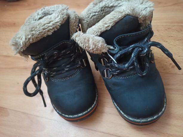 Зимние ботинки кожа, цегейка