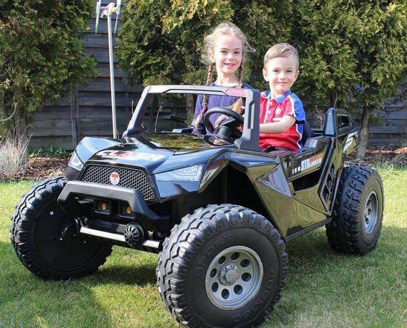 Dwuosobowe auto 24V CLASH - 9km/h dla dzieci auto na akumulator
