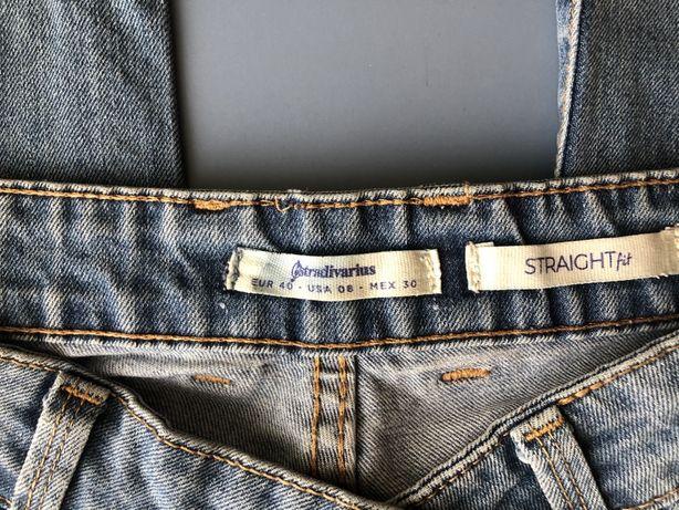Модные женские рваные джинсы от Stradivarius
