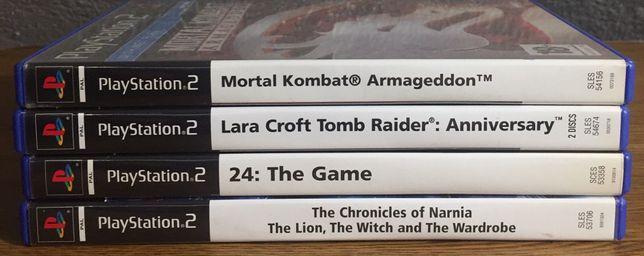 Jogos para PS2 a vários preços LER DESCRIÇÃO