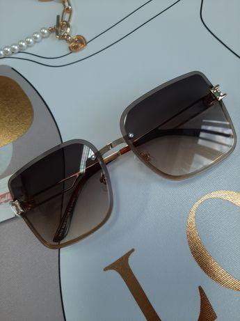 Stylowe damskie okulary przeciwsłoneczne,  kolory