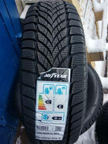 Зимние шины 195/65 R15 GoodYear UltraGrip Ice 2 - 2020, РАССРОЧКА 0%