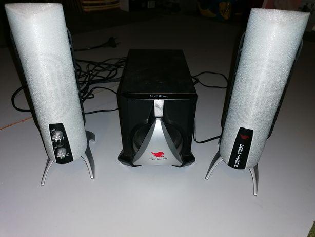 Głośniki do komputera, telefonu, tableta z subwooferem Tsunami CP-1100