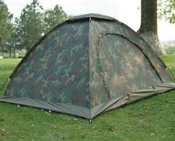 """Палатка туристична армійська 4-ох місна """"Хакі"""" 2х2,5м"""