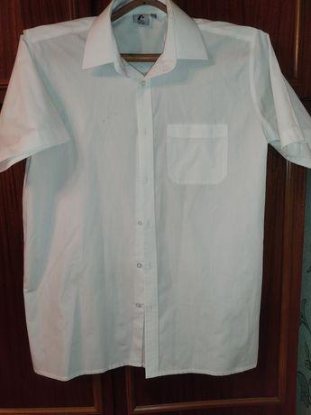 Рубашка школьная с коротким рукавом