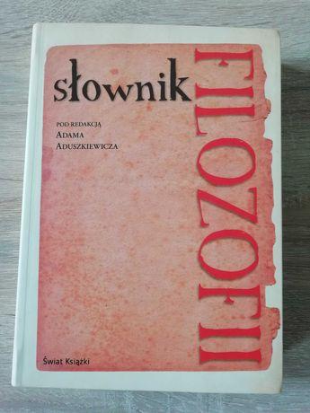 Książka Słownik filozofii nowa Adam Aduszkiewicz