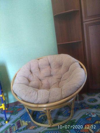 Кресло с ротанга