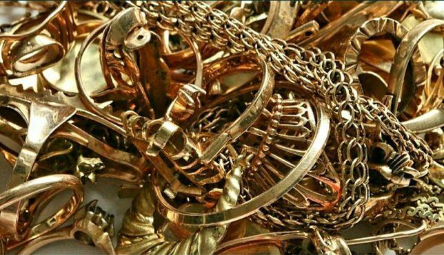 Złom złoty. Złom złoto próba 585 14k Lombard ZŁOTA Łódź Rzgowska 24