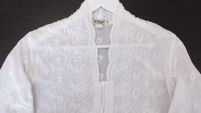 step bkk Таиланд р.44 46 48 х/б блуза вышитая бисером блузка вышиванка