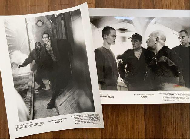 Alien 3 - 2x zdjecia / kadry filmwe