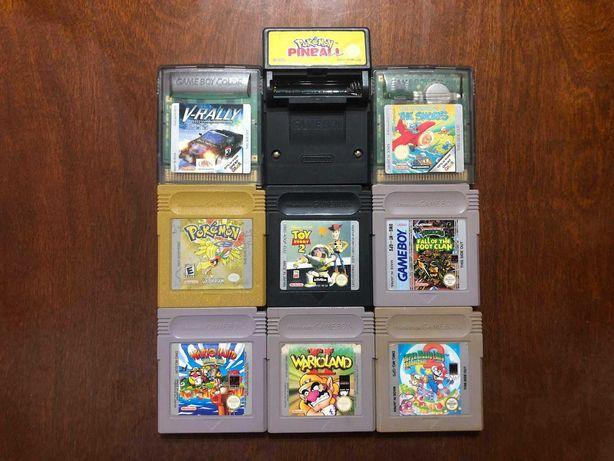 Jogos Gameboy / Game Boy Advance (Super Mario, Wario Land, Pokemon)