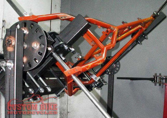 rama wsporcza jig motocyklowa naprawa ram budowa