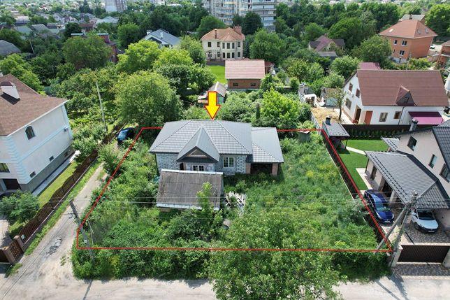 Боярка продам дом новострой центр, участок угловой 7 сот