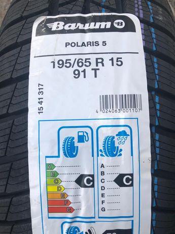 nowe opony zimowe cena z montażem 195/65R15 Barum Polaris 5 91T z 2020