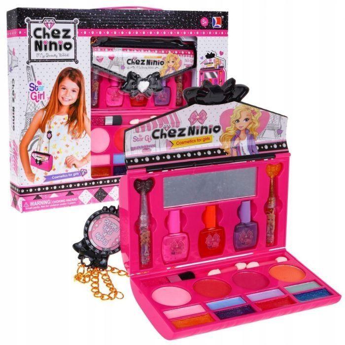Zestaw Kosmetyków Do Makijażu Dla Dzieci Make Up  Torebka 77016B Tychy - image 1
